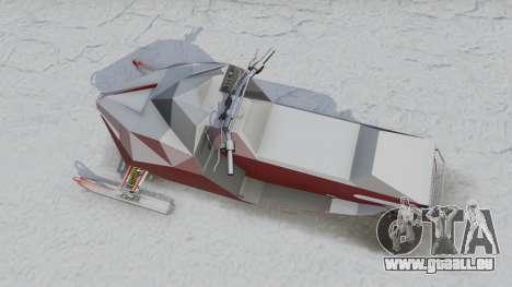 Motoneige pour GTA 5