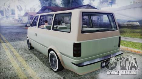 GTA 5 Declasse Moonbeam Custom IVF für GTA San Andreas linke Ansicht