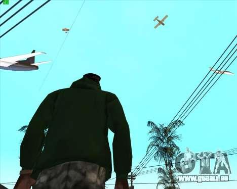 Wahnsinn im Staat San Andreas v1.0 für GTA San Andreas dritten Screenshot