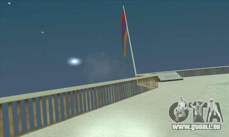 Armenien fahne auf dem mount Chiliad für GTA San Andreas