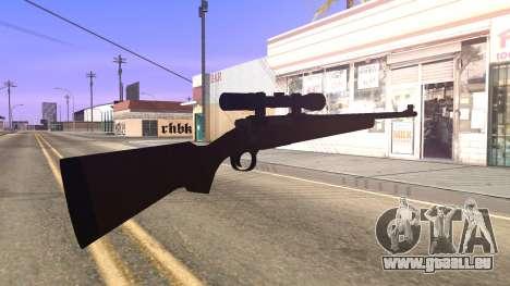 Remington 700 HD pour GTA San Andreas troisième écran