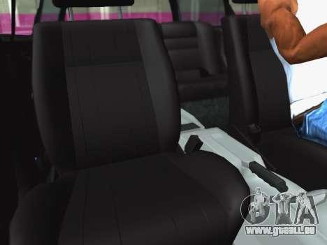 Volkswagen Passat B3 Variant für GTA San Andreas Innenansicht