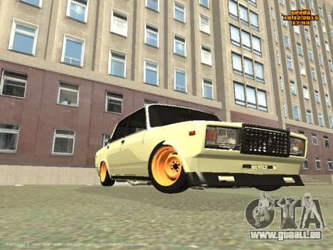VAZ 2107 Voiture pour GTA San Andreas