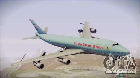 Boeing 747-100 Blue pour GTA San Andreas