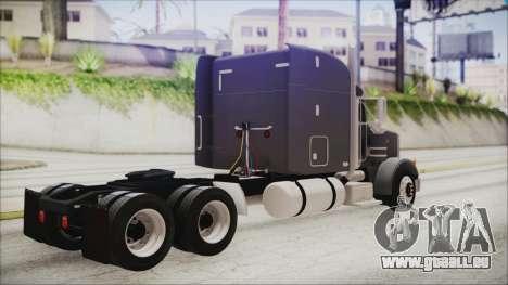 Peterbilt 378 2004 Ducky pour GTA San Andreas laissé vue