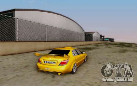 Ikco Dena Full Tuning für GTA San Andreas linke Ansicht
