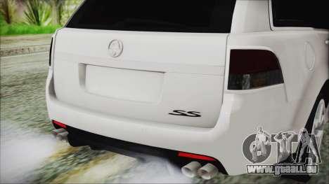 Holden Commodore VE Sportwagon 2012 pour GTA San Andreas vue arrière