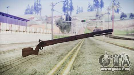 GTA 5 Musket v3 - Misterix 4 Weapons pour GTA San Andreas