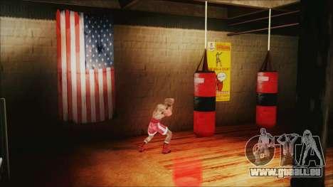 SF Goku Gym pour GTA San Andreas quatrième écran