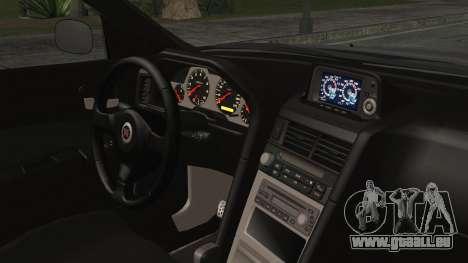 Nissan Skyline Nismo Body Kit pour GTA San Andreas vue de droite