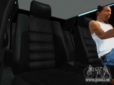 Mercedes-Benz W124 E500 pour GTA San Andreas vue arrière