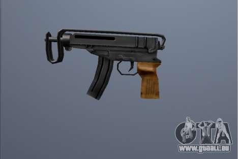 PP Scorpion pour GTA San Andreas