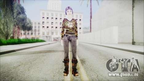Clementine für GTA San Andreas zweiten Screenshot