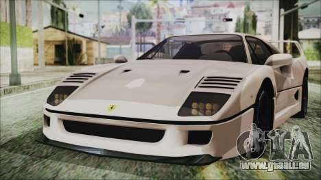 Ferrari F40 Gas Monkey für GTA San Andreas