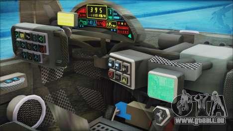 Ferrari P7 pour GTA San Andreas vue de droite