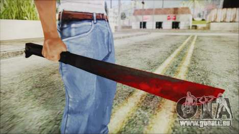 Jason Voorhes Weapon pour GTA San Andreas