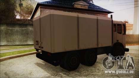 Dunemaster Beta pour GTA San Andreas laissé vue