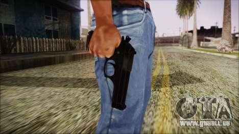 PayDay 2 Bernetti 9 pour GTA San Andreas troisième écran