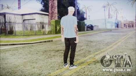 GTA Online Skin 5 pour GTA San Andreas troisième écran