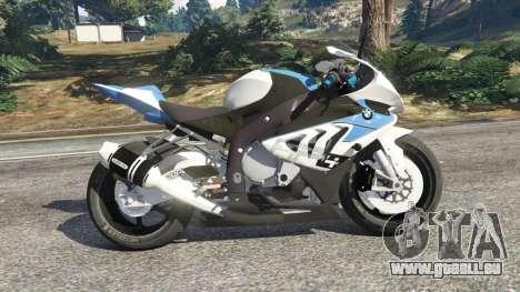 GTA 5 BMW HP4 linke Seitenansicht