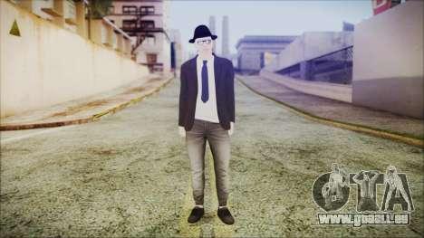 GTA Online Skin 49 pour GTA San Andreas deuxième écran