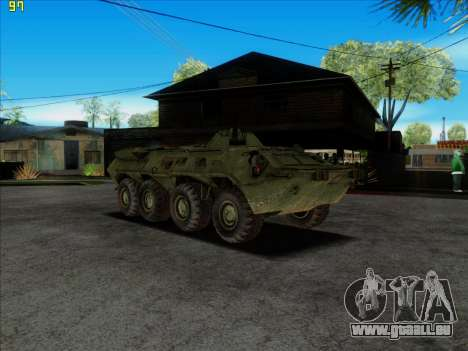 BTR 80 für GTA San Andreas rechten Ansicht