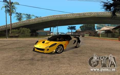 Lotus Elise 111s Tunable pour GTA San Andreas