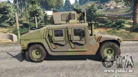 GTA 5 HMMWV M-1116 [woodland] linke Seitenansicht