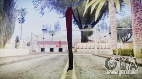 Jason Voorhes Weapon für GTA San Andreas zweiten Screenshot
