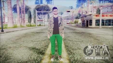 GTA Online Skin 28 pour GTA San Andreas deuxième écran