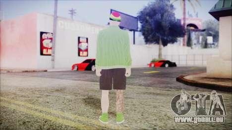 GTA Online Skin 44 pour GTA San Andreas troisième écran