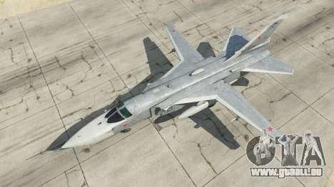 GTA 5 Su-24M quatrième capture d'écran