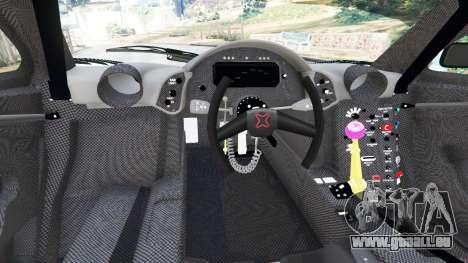 GTA 5 McLaren F1 GTR Longtail [Gulf] hinten rechts