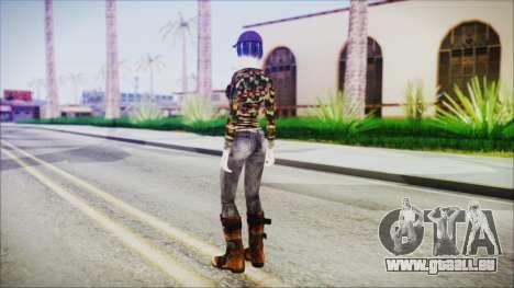 Clementine für GTA San Andreas dritten Screenshot