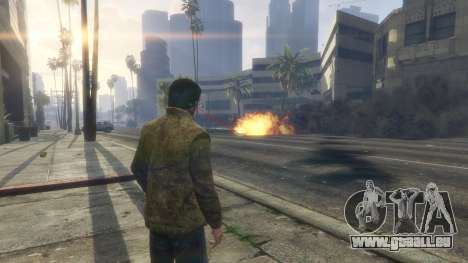 GTA 5 Heat vision Superman 1.1 achten Screenshot