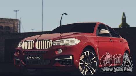 BMW X6M 50D für GTA San Andreas