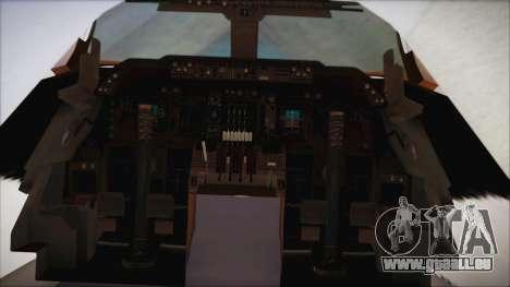 Boeing 747-237Bs Air India Emperor Shahjehan für GTA San Andreas rechten Ansicht