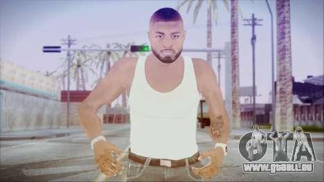 GTA 5 Grove Gang Member 3 pour GTA San Andreas