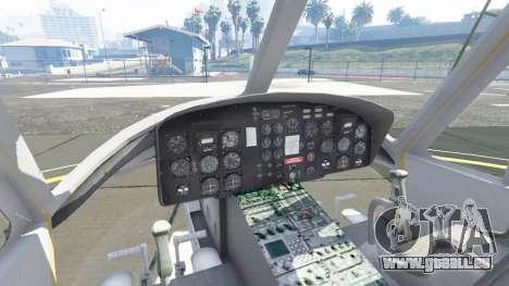 GTA 5 Bell UH-1D Iroquois Huey cinquième capture d'écran