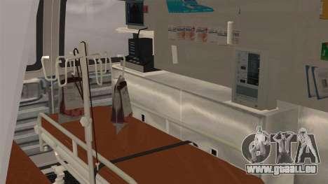 Indonesian PMI Ambulance für GTA San Andreas Rückansicht