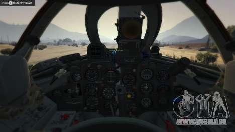 GTA 5 Le MiG-15 neuvième capture d'écran
