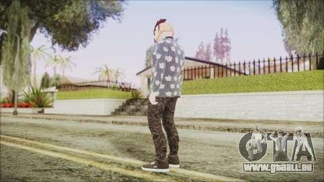 Skin GTA Online Hipster 2 pour GTA San Andreas troisième écran