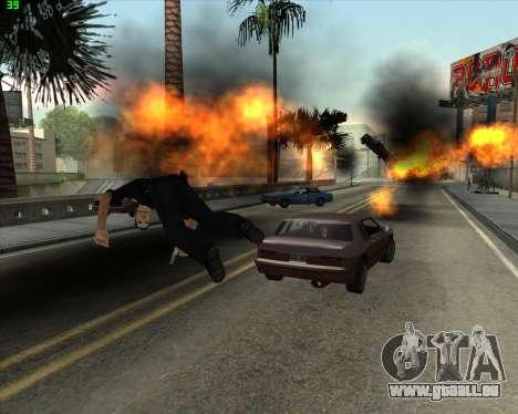 La folie dans l'état de San Andreas v1.0 pour GTA San Andreas septième écran