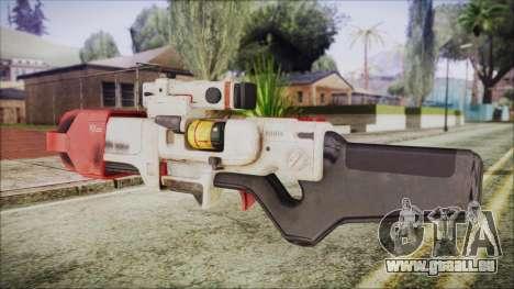 Fallout 4 Focused Institute Rifle pour GTA San Andreas deuxième écran