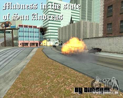 Wahnsinn im Staat San Andreas v1.0 für GTA San Andreas sechsten Screenshot