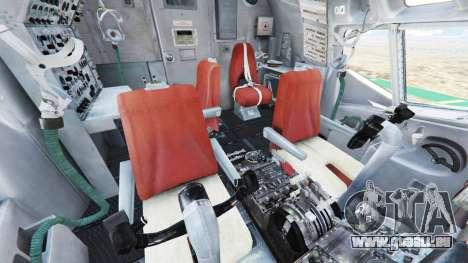 GTA 5 Boeing E-3 Sentry sixième capture d'écran