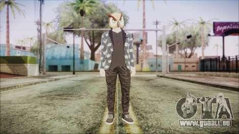 Skin GTA Online Hipster 2 für GTA San Andreas zweiten Screenshot