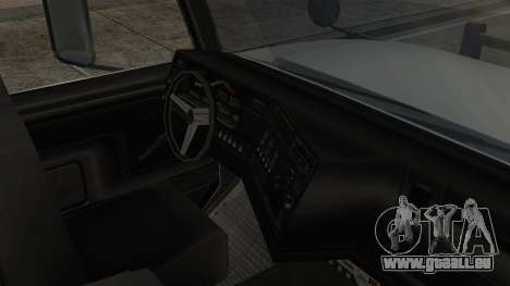 Indonesian Benson Truck Not In Real Life Version pour GTA San Andreas vue de droite