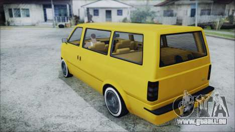 GTA 5 Declasse Moonbeam Bobble Version für GTA San Andreas linke Ansicht