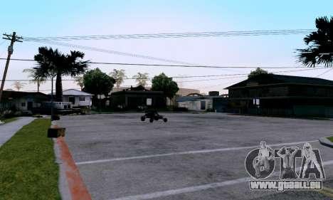 uM ENB pour la faiblesse du PC pour GTA San Andreas troisième écran